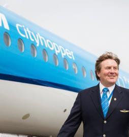 Koning Willem-Alexander al jarenlang KLM piloot