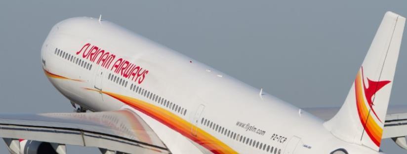 Surinam Airways 3 dagen vertraagd